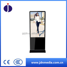 55 inch factory direct large size touch screen stand up LED advertising monitor with CE, ISO, FCC certificates