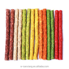 color munchy stick natual snack for dogs