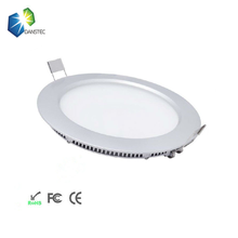 High quality SMA 2835 9watt round led flat panel wall light