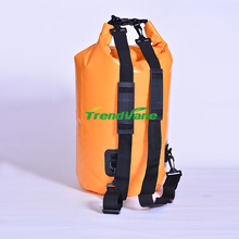 2018 new products custom logo heavy duty PVC polyester fashion waterproof dry bags comes in different colors and sizes
