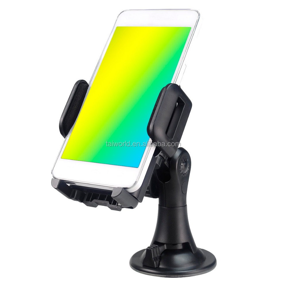 Universal 360 Degree Swivel Car Windshield Mobile Phones Holder Mount for Samsung iPhones
