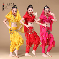 wholesale children stage dance costume belly dance clothes children Indian Style belly dance costume