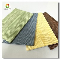 faux wood fiber cement siding wall decoration panel