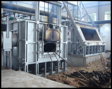 china factory aluminum melting furnace