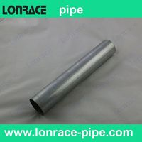 steel gi pipe nipple for bs4568 bs31 conduit