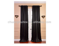 New Item Energy Efficient Back-Tab Pole blackout curtain panel