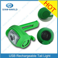 0.5W USB Rechargeable Bicycle Tail Light LED USB Rechargeable Bicycle 2016 NEW slancio bike bicycle turn signal lights