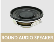 50mm 300ohm 0.01watt micro headphone speaker