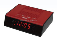 Factory Sale Decoration Digital am fm Red Led Display Radio Clock Alarm