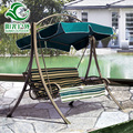 Factory direct supply wholesale garden patio kids swing back chair with canopy