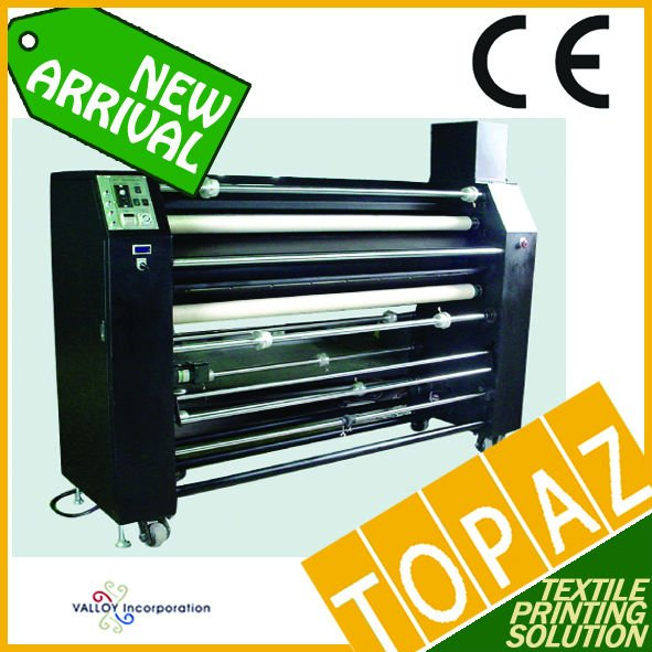 Korea Roll Heat Press Machine - Oil Type (130cm width, 35cm dia drum)