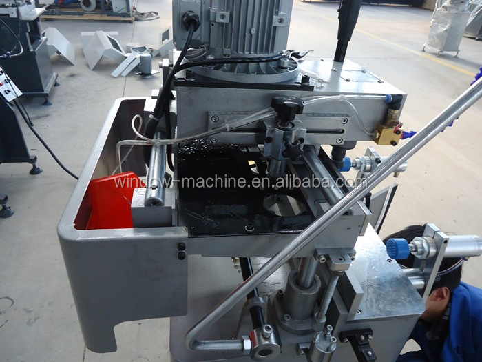 Hot selling Single head aluminum copy router window machine
