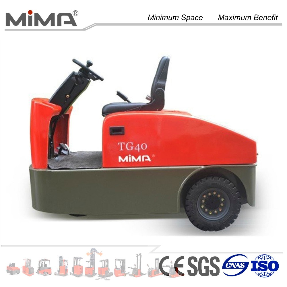 AC driving motor 2T--6T loading capacity electric tow tractor with CE