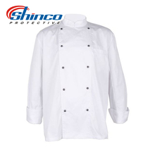 Shinco customized cotton chef coat uniform