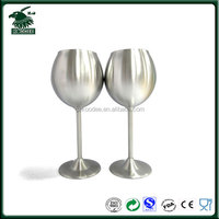 High quality stainless steel wine goblet wholesales