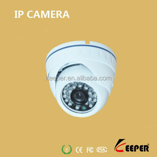 2014 newest factory wholesale full HD low lux 24pcs IR led vandal-proof mini dome ip camera ,factory oem hisilicon camera