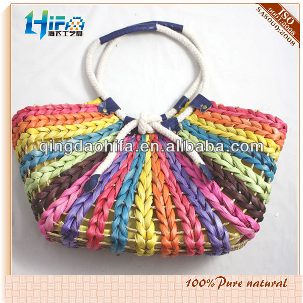 Fancy Cheap Purses Straw Handbags UK