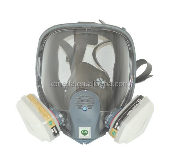 SJL Full face gas mask Suit Paint Spraying Gas Mask can be use with 3M particulte filters and cartridges same as 3M 6800 mask