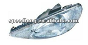 Car head lamp for Peugeot 206 spare parts
