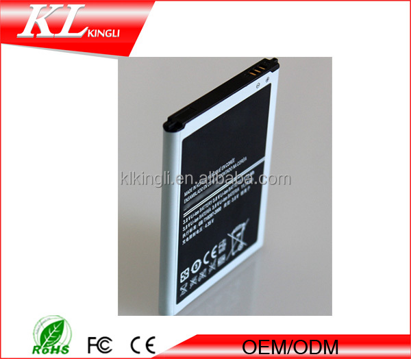 High capacity 3100mah battery for samsung N7100 battery long time battery mobile phone