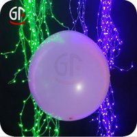 Round Led Latex Balloons