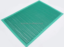 cheap and fine PVC S large plastic floor mat