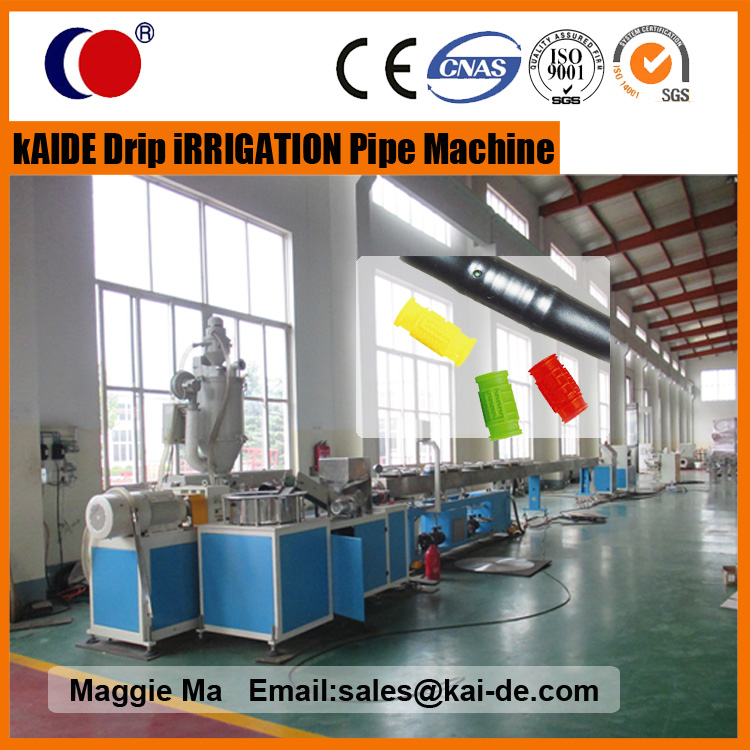 Water Conservation Drip Irrigation tube assembly line provider