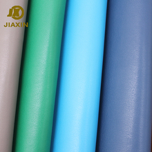 JIAXIN Customized Fashionable PU Synthetic Woven Leather For Making Man Shoe