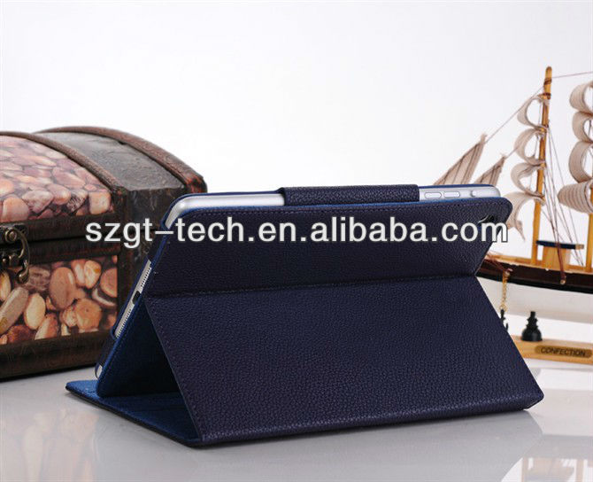For Mini Ipad case, leather cover for ipad mini cover ,for Apple iPad mini accessory