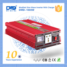 Off grid modified sine wave 1000w power inverter circuit 12v 220v with battery charger