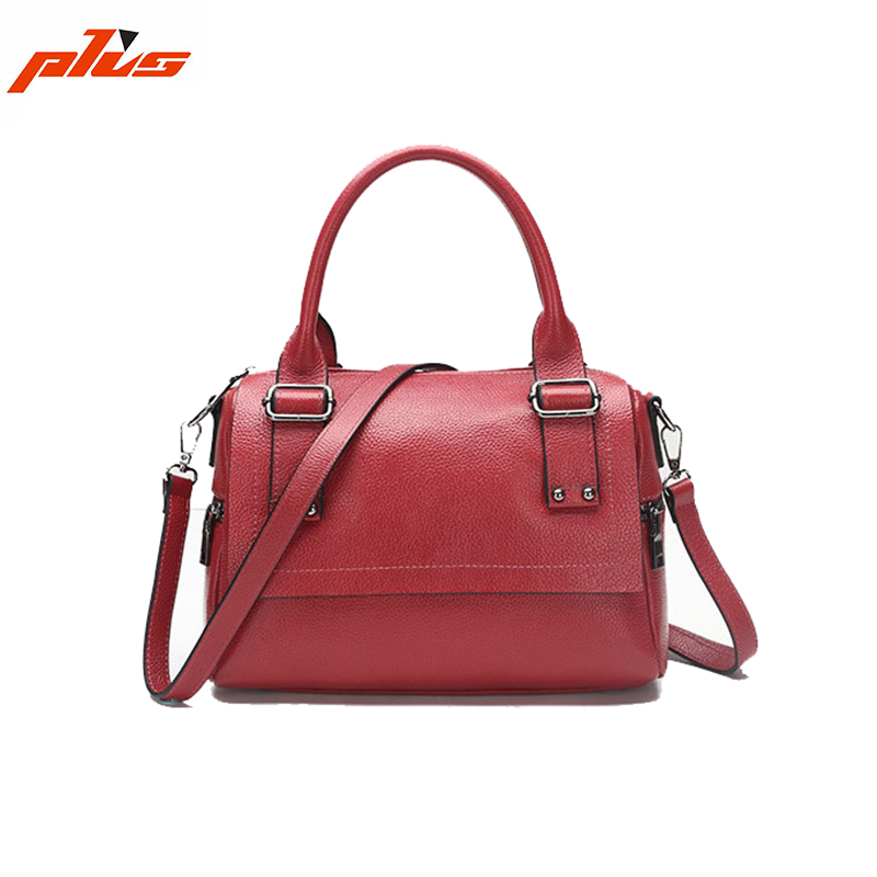 China Online Shopping Casual Custom Womens Leather Handbag Designer Handbag Logos