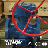 ANSI WFE Cast Steel Inverted Pressure Balance Lubricated plug cock valve
