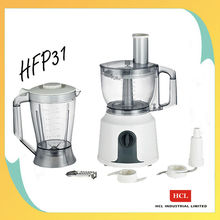 multifunctional food processor with blender