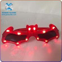 Cool Men Top quality Flashing light up sunglasses led wire sunglasses in events and party supplies
