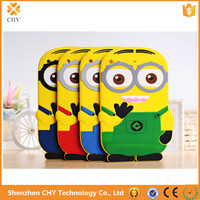 Wholesale Alibaba Despicable Me Minions 3D Silicone Soft Case Cover For Apple ipad air