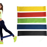 Home Gym Training High Quality Fitness Resistance Bands Set