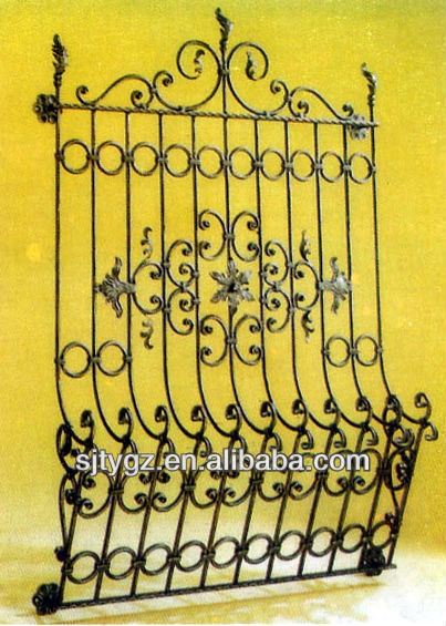 The fashion style wrought iron bars for windows for sale