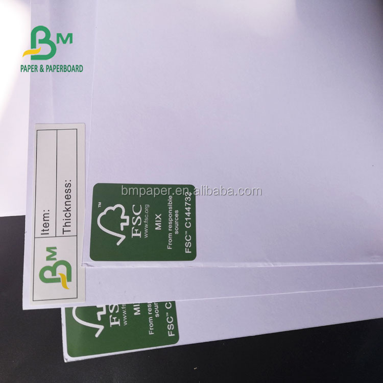 FSC Standard 60GSM White Notebook Paper / Uncoated Woodfree Paper In Sheet