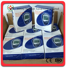 SY-G086 promotion cheapest Blood Sugar Monitor Blood Hemoglobin Test Meter Blood Sugar Tester Glucometer