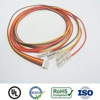 RoHS UL Free samples pvc insulating connector sleeves for terminal 0.25""