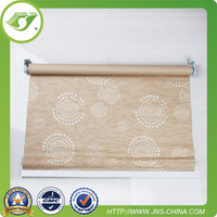 Z295 Europe hot sale Yellowish Motorized window blinds / diy window blinds smart home curtains