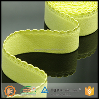 Nylon spandex creative high elastic waved strap underwear