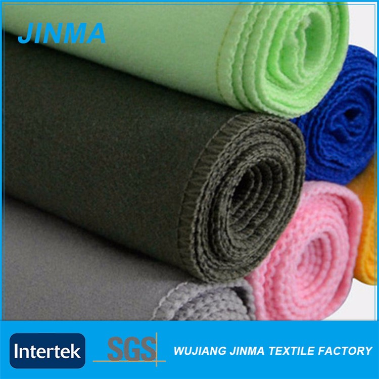 Attractive price new type yoga microfiber towel fabric