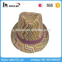 Lancai- ensure the capacity in busy period in many styles beach sun fedora lady straw hat