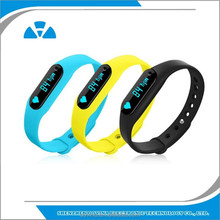 Fashion Wrist Band OLED Pedometer Monitor Sport Tracker E02 Smart Bracelet
