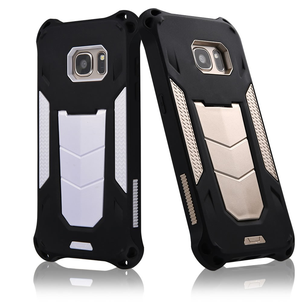 C&T Kickstand Hybrid Heavy Duty Rugged Dual Layer Armor Defender Case For Samsung Galaxy S7