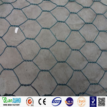 Hexagonal wire netting/Pvc coated hexagonal mesh/Gabion mesh/making a rabbit cage