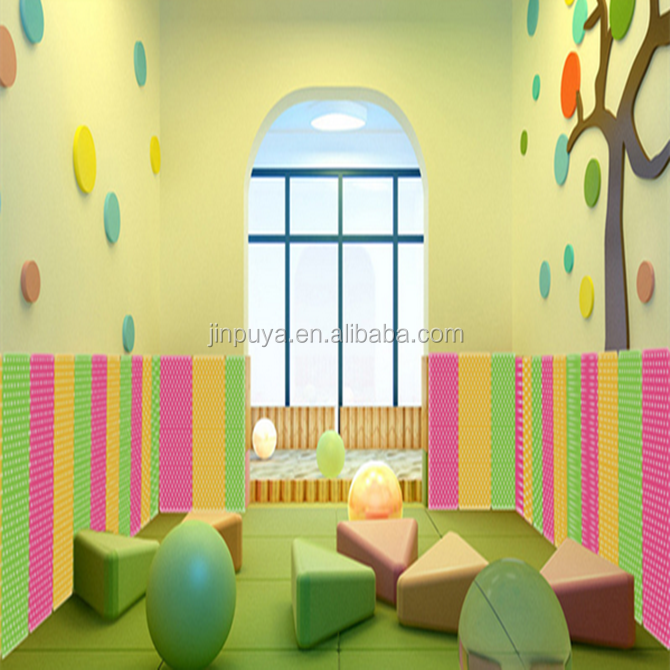 decorative foam wall padding/foam panel for baby room