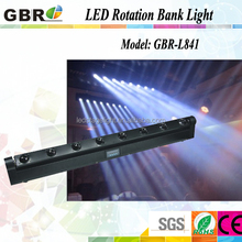8*10w 4in1 LED BEAM 8 HEAD LIGHT8*10W RGBW 4in1 LED Moving Head Bar