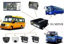 GPS/WIFI/3G Car DVR 4ch CCTV Taxi Security Camera System 800tvl